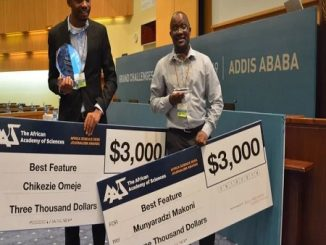 Nigerian, Zimbabwean, science journalism awards,