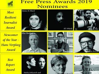 Free Press Awards, Netherlands