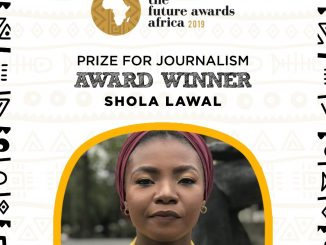 Shola lawal, Future Awards Prize for Journalism
