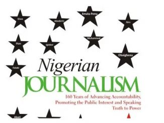 nigerian journalism books
