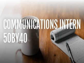 Communications intern at 50by40