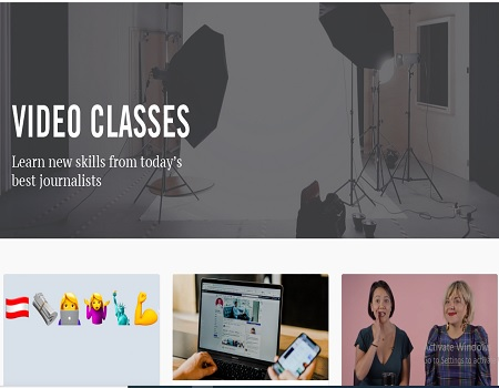 Enrol for CUNY free video lecture on journalism