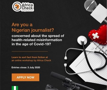 africa check, COVID-19 misinformation