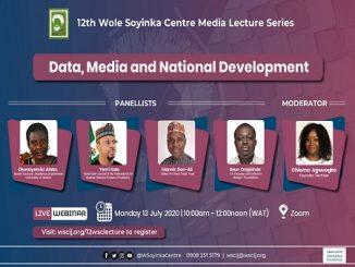 Wole soyinka lecture series