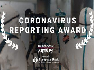 Coronavirus Reporting Award