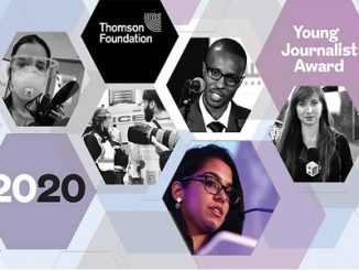 DEADLINE: AUGUST 14, 2020 — Journalists below the age of 30 can from countries with a Gross National Income (GNI) per capita of less than $20,000 can apply for the 2020 Thomson Foundation Young Journalist Award.