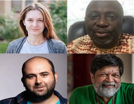 international press freedom awardees