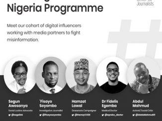 ICFJ, influencers, newsrooms partner to combat misinformation in Nigeria