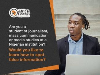 Online health misinformation workshop for Nigerian students