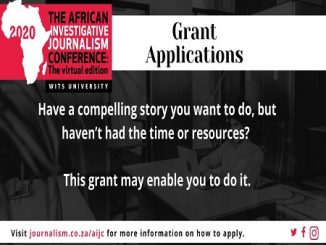 African journalists can apply for grants from AIJC, Wits Journalism