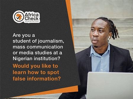 Online health misinformation workshop for Nigerian students