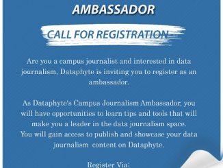 dataphyte's campus journalist ambassador