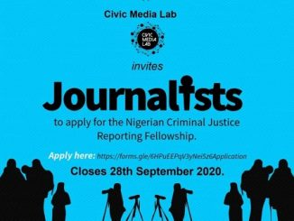 Criminal Justice Reporting Fellowship