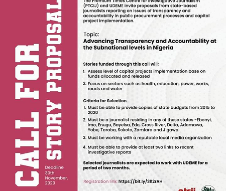 transparency accountability proposals