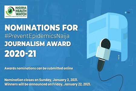 #PreventEpidemicsNaija Journalism Award