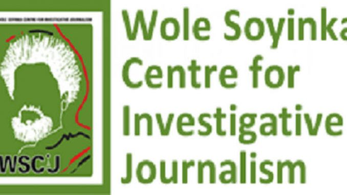 Wole Soyinka Centre for Investigative Journalism, WSCIJ pitches