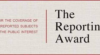 Matthew Power Literary Reporting Award