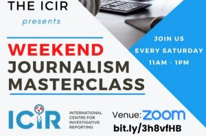 Weekend journalism clinic